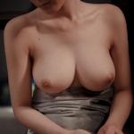 美乳な中国美女モデルの美しいヌード画像