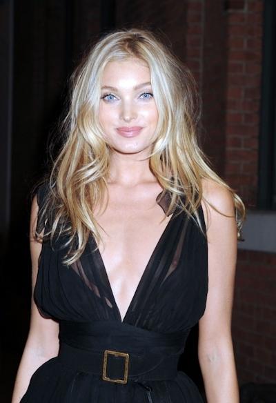 スウェーデンのスーパーモデル Elsa Hosk(エルザ・ホスク)がノーブラ透け乳首 3