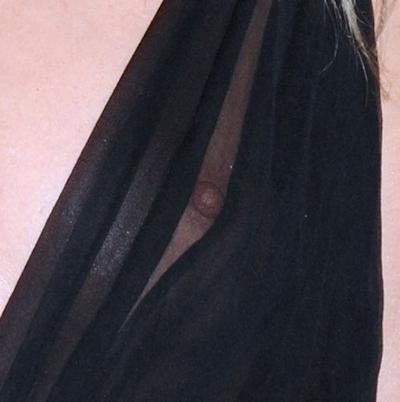 スウェーデンのスーパーモデル Elsa Hosk(エルザ・ホスク)がノーブラ透け乳首 5