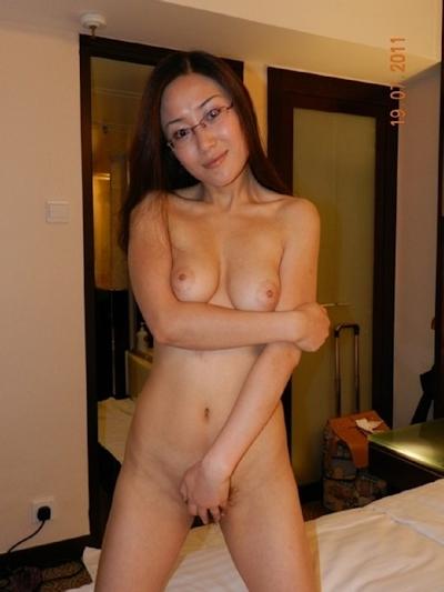 巨乳な台湾美女の流出ヌード画像 5