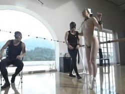 【拘束】拘束動画。拘束コブ縄調教に痙攣しながら絶叫するプリマドンナ