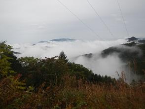 二日目02雲海