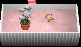 ふわふわかき氷ツリーの鉢植え