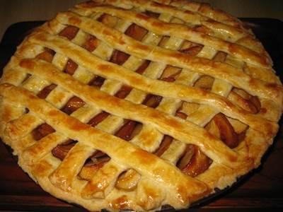 アップルパイ 焼き上がり