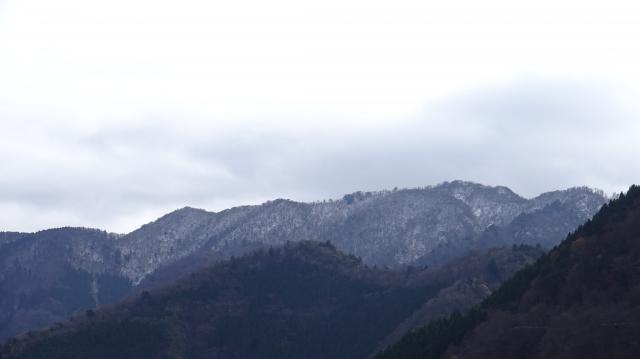 雲早山を仰ぎ見る