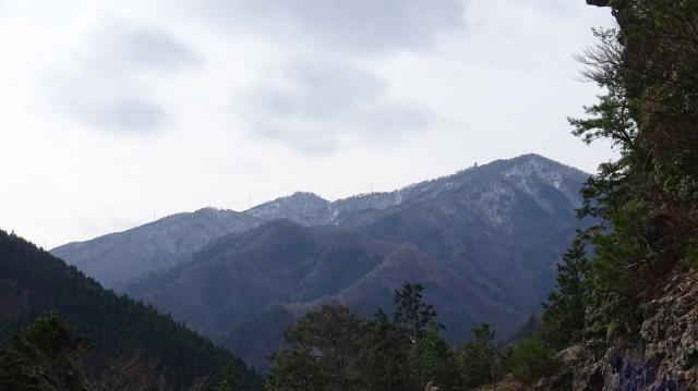 高城山が見えてきた