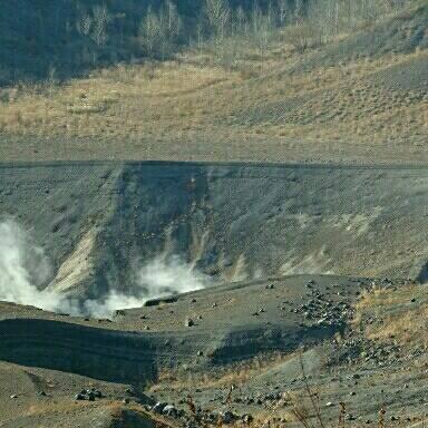 有珠山火口