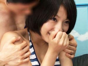 <マジックミラー号>S級ロリカワ美少女がMM号で初対面の男と即セックスw 阿部乃みく<MM号>