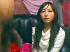 広末涼子似の素人娘のセンズリ鑑賞
