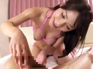 極上美女のM男責めスローセックス!かすみ果穂