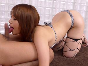 巨乳美女がベロチュウと濃厚フェラ、密着SEXで癒してくれるメンズエステ 本田莉子