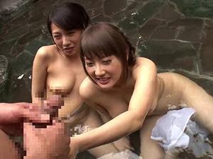 女風呂に男がいたらどうしますか!?