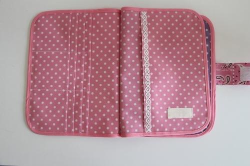 3人用母子手帳ケース No.187