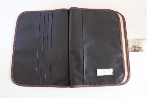 3人用母子手帳ケース No.195