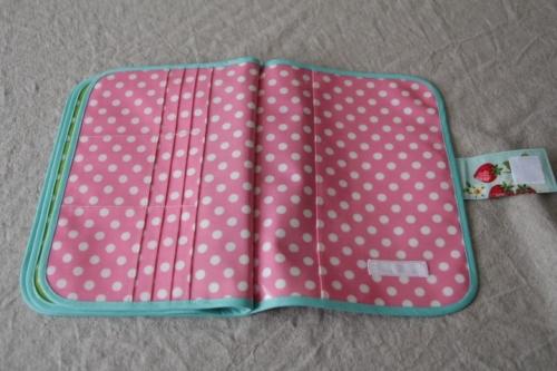 3人用母子手帳ケース No.206