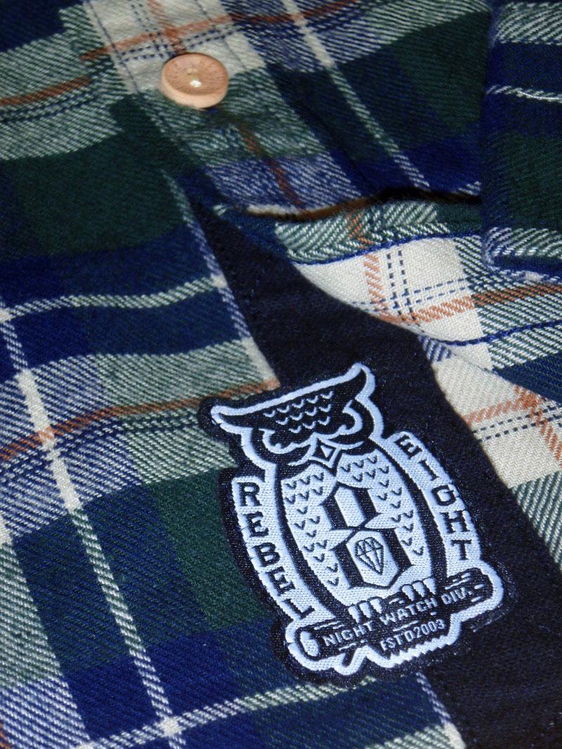 2015 Holiday REBEL8 Shirt Button Up STREETWISE ホリデー レベルエイト シャツ ボタンアップ ストリートワイズ 神奈川 藤沢 湘南 スケート ファッション ストリートファッション ストリートブランド