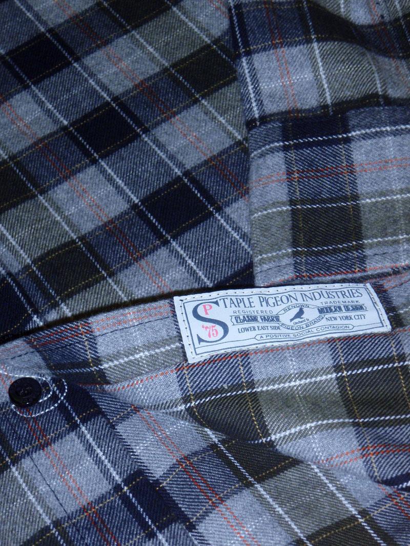2015 Holiday STAPLE SHIRT FLANNEL STREETWISE ホリデー 新作 ステイプル シャツ フランネル ストリートワイズ 神奈川 藤沢 湘南 スケート ファッション ストリートファッション ストリートブランド