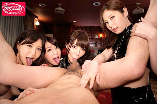 里美ゆりあ 桜井彩 佐々木あき 南まゆ 4人の美痴女が織りなす淫乱ハーレムの画像 05