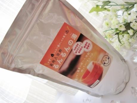 自宅で簡単に温泉に入れる!湯の花エキス基剤配合、医薬部外品、薬用入浴剤【るんるんの湯(もと)】
