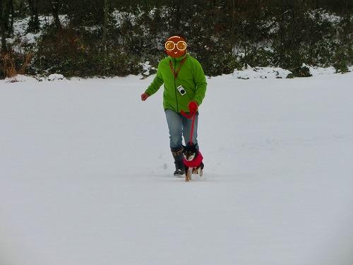 雪遊び (5)
