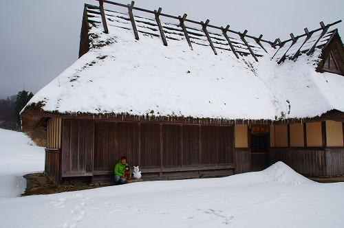 雪遊び (6)