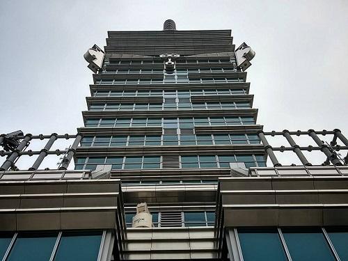 台北101(台北金融大樓)へ!⑦