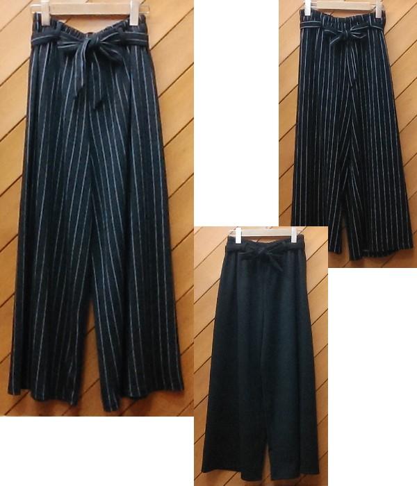 リボン付ガウチョ ¥2900+税