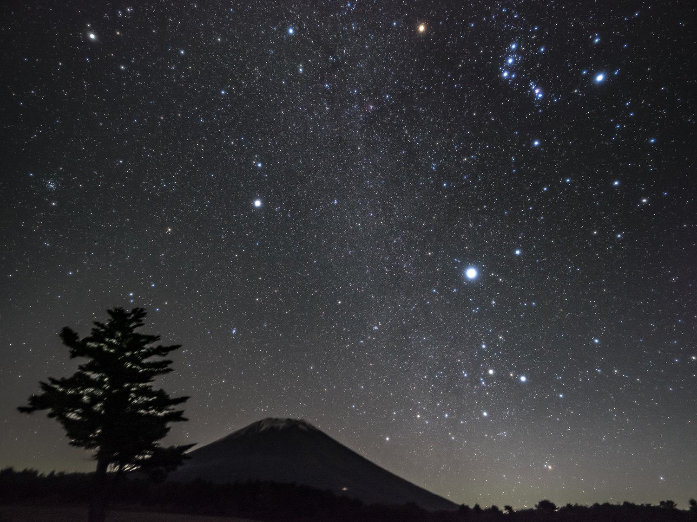 富士ヶ嶺 星景