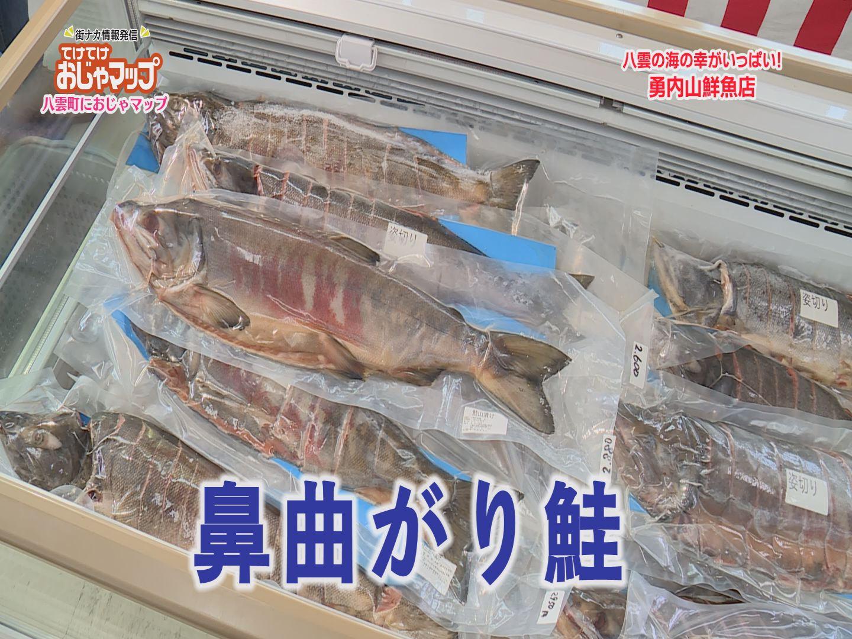 勇内山鼻曲がり鮭!