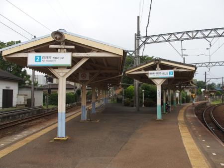 日永駅 ホーム