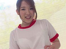 【無】関西弁がカワイイ童顔ムチムチソープ嬢が透けフェチブルマでぬるぬる中出し姦♪