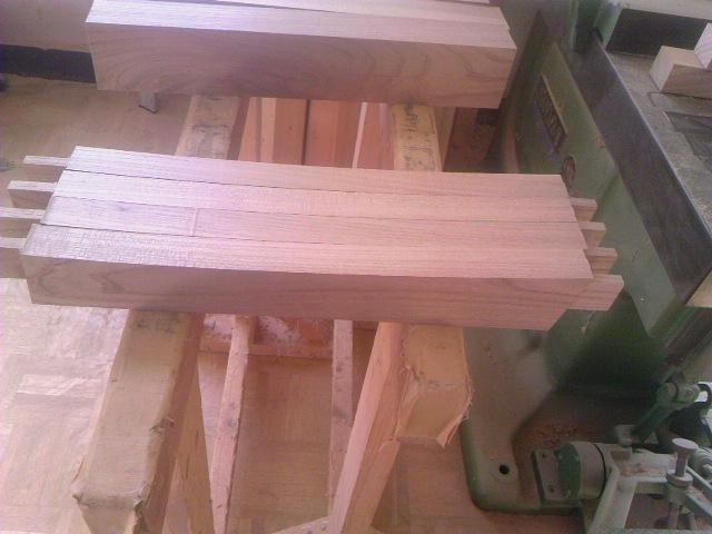 椅子制作過程 003