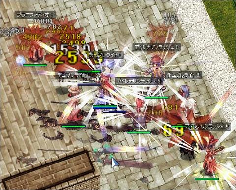 2015年11月7日殴りアコプリ祭り(狩り3)