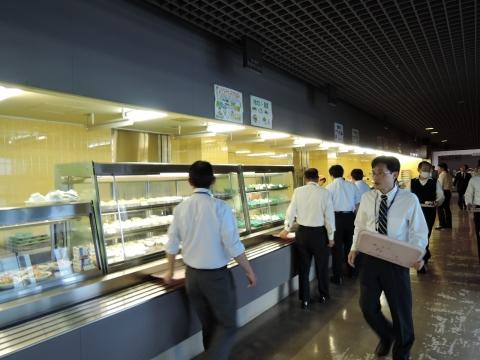 カフェテリアひばり茨城県庁③