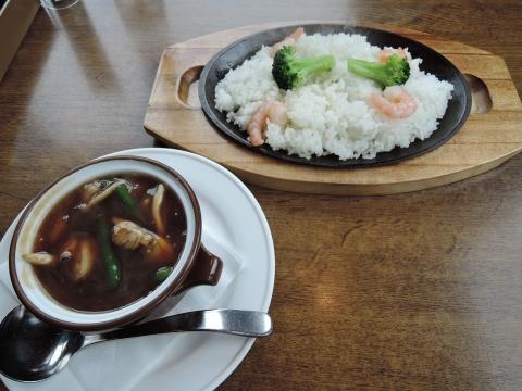 中華海鮮あんかけご飯②