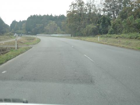 ⑤355号バイパスのセンターラインが消えた!⑤