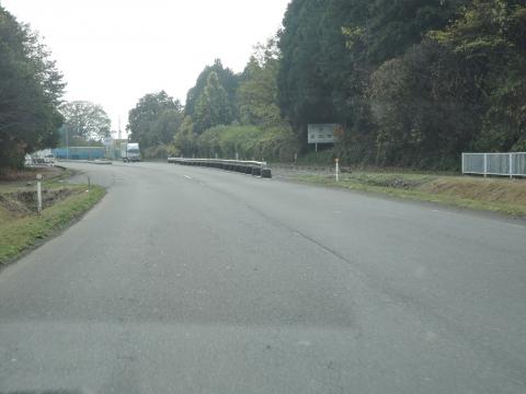 ⑧355号バイパスのセンターラインが消えた!⑧