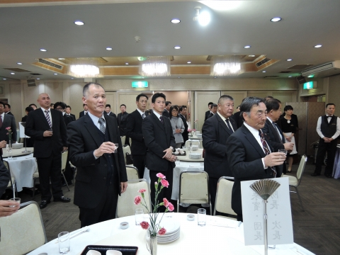 平成27年12月5日石岡市消防団忘年会②