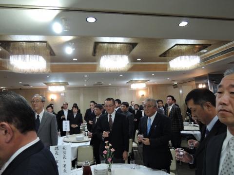 平成27年12月5日石岡市消防団忘年会③