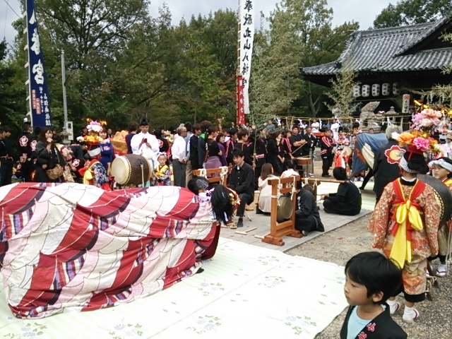 丸山八幡秋季大祭