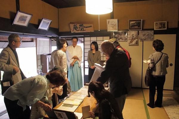 夏目漱石赴任120年河之内 151107 04