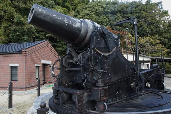 小島28cm榴弾砲レプリカ 151205 01