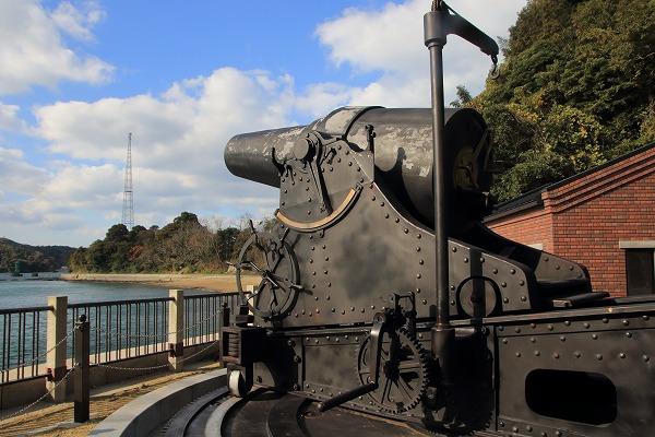小島28cm榴弾砲レプリカ 151205 03
