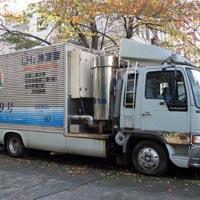 水素エンジントラック