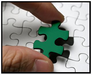 緑のパズル
