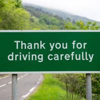 安全運転に感謝