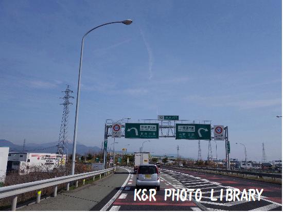 4月12日上信越道下り更埴JCT