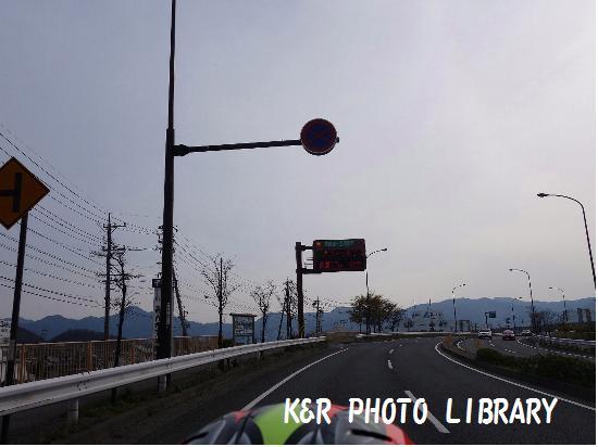 4月12日長野あんずの里帰路2