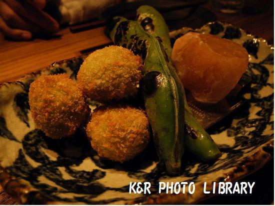 4月18日マッシュ空豆のクリームチーズボール