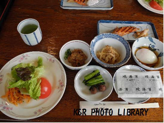 5月4日裏妙義朝食1